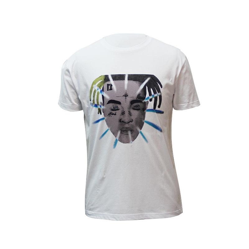 Custom t shirt printing with pure cotton fashion pattern