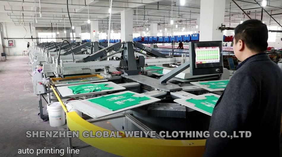 Auto printing line