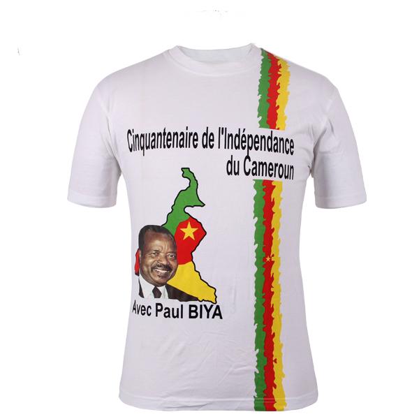 Election T-Shirt Promotional Customized Basic in china