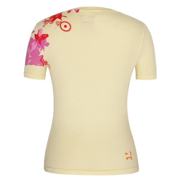 New style short sleeve 100%cotton fashion orange t shirt