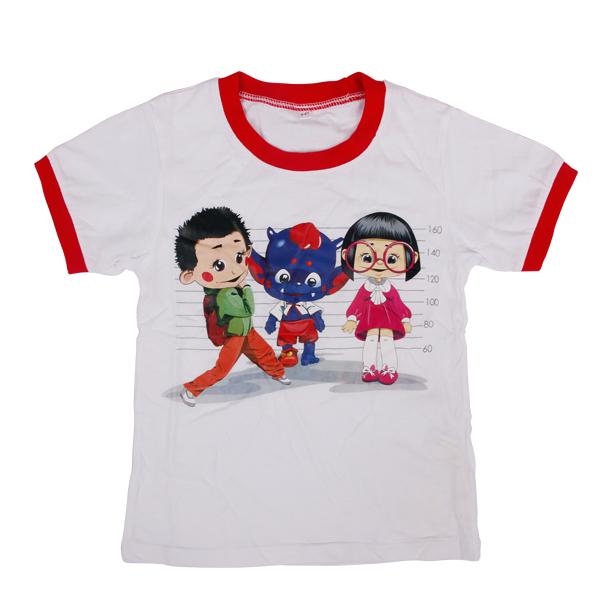 kids wear girls with custom White tees