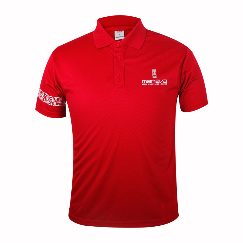 polo collar t shirts 100% polyester custom