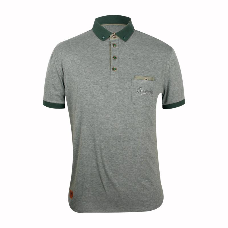 Custom polo shirts with pockets
