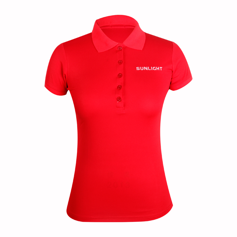 polos for women embroidery logo