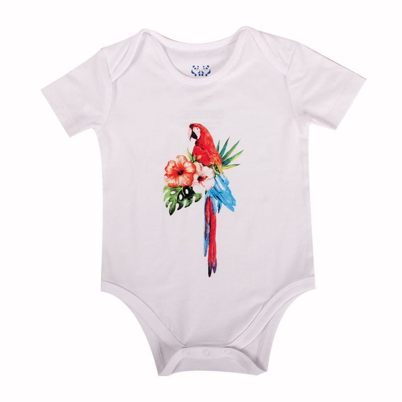 Printing baby outfits for summer wear