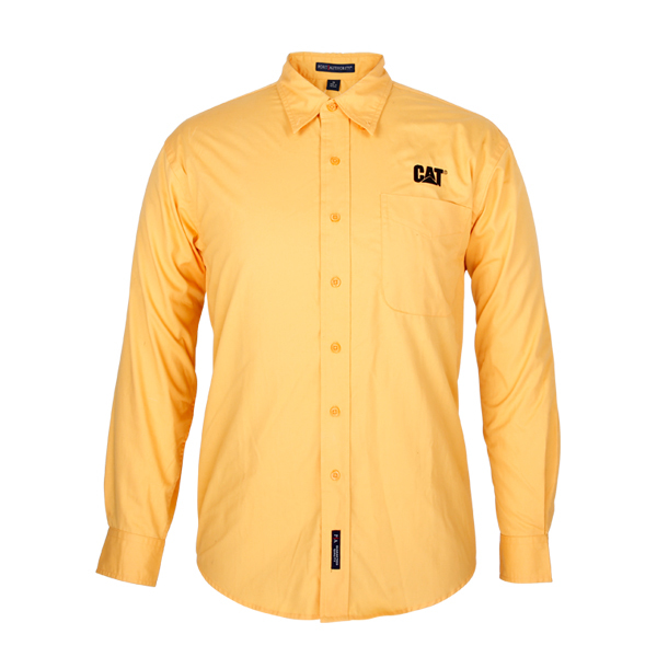 yellow shirt for men long sleeve
