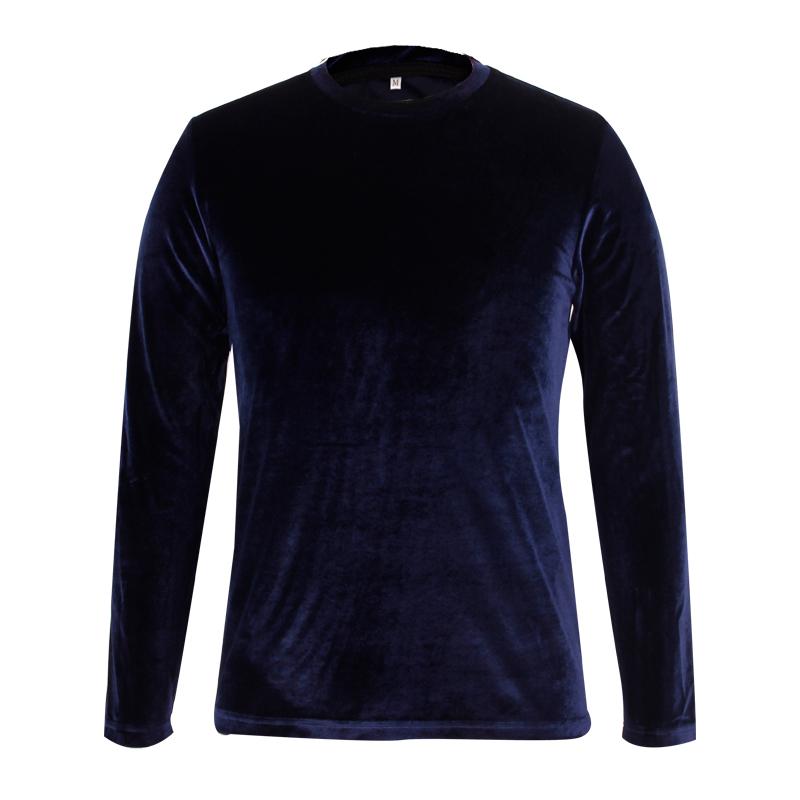 Velvet pullover sweatshirt high quality
