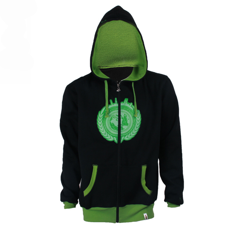 mens zip up hoodies design in china