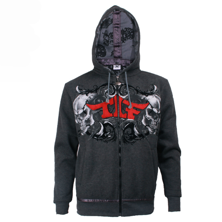 Men's Midweight Zip Front fashion hoodies