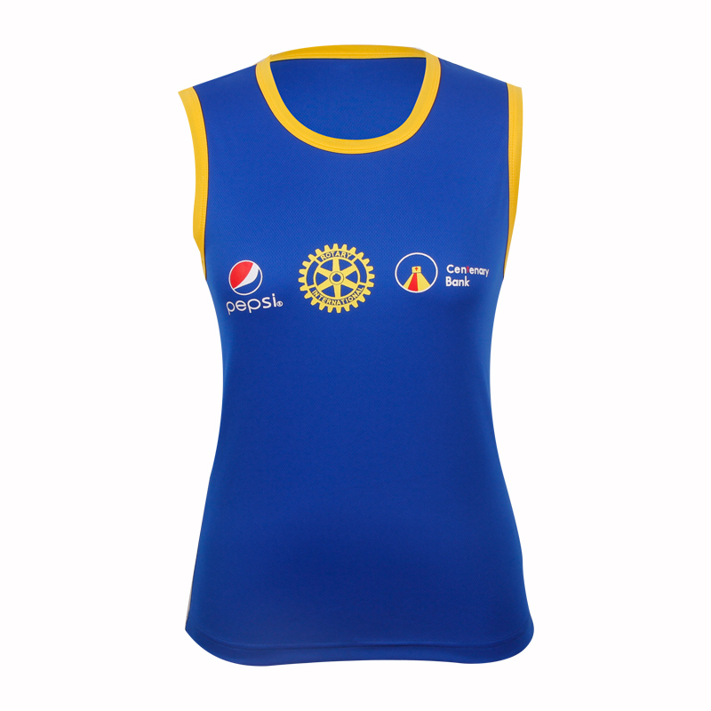 tank top girl 100 polyester for advertising